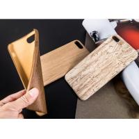 China Ultra thin Wooden Cell Phone Case , Light Weight Android Phone Protector Case on sale
