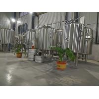 China Sus 304 Commercial Beer Brewing Systems , 200l Small Home Brewing Equipment wholesale