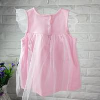 Buy cheap new fashion baby girl summer dress pink princess dress kids dress for girls from wholesalers