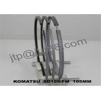 China Boron Alloy Material Car Engine Rings For Auto Spare Body Parts 105mm on sale
