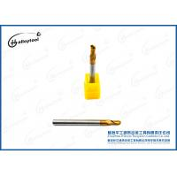 Quality R1.5×50×D4×6×2F Tungsten Solid Carbide Ball Nose End Mills For Drilling for sale