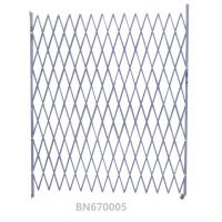 China Extra 8' High All Weather Steel Folding Security Gates Commercial Single Open wholesale