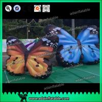 China 4M Cusomized Beautiful Inflatable Butterfly For Outdoor Events wholesale