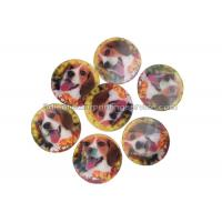 China PET / PP Lovely Animal Image Sticker 3d Lenticular Printing Adhesive For Kids wholesale