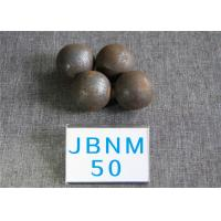 Quality High Surface Hardness 62-63HRC Hot Rolled Grinding Balls for Mining / Steel Balls for Ball Mill , Grinding Resistant for sale