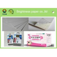 China Customized Size Ivory Card Making Paper , Bulk Cardboard Sheets For Craft wholesale