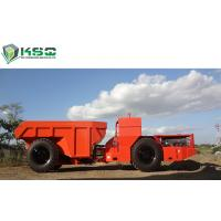China 30 Ton Low Profile Dump Truck Underground Dump Truck For Mining / Tunneling on sale