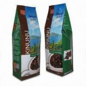 China Coffee Bean Packaging Bags Plastic Tea Bags Packaging For Coffee , Square Bottom Bags on sale