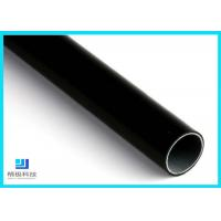 China Black Eco-Friendly  Anti-static Lean Pipe Plastic Coated Steel Pipe For Workshop wholesale