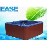 China Portable Acrylic Massage Outdoor Bathtubs with 1 Cooling Seat, 1220 Liters Water Capacity on sale