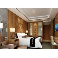 China 4 Star Highly Endurable Hotel Bedroom Furniture Sets Queen Size High Density Form wholesale