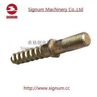 China Customized Design Double Head Zinc Plated Railway Screw Spike for Railroad wholesale