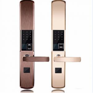 Intelligent Zinc Alloy Fingerprint Door Lock With Super C Class Cylinder