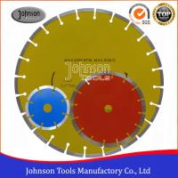 China Sintered Segmented Diamond Circular Saw Blade For Cutting Granite on sale