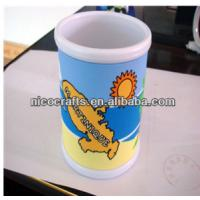 Quality Custom 2d,3d or full printing cute Eco-friendly non-toxic pvc coffee mugs for for sale