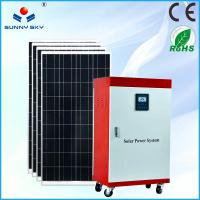 China cost saving 5kw solar power plant heating solar power system home solar generator solar energy with cheap price TY082B wholesale