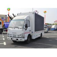 China Mobile Advertising LED Billboard Truck Display Lift P6 Outdoor Color Screen With Stage wholesale