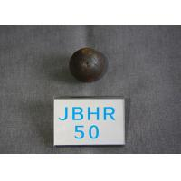 Quality B2 D 50mm Grinding Media Steel Balls for Cement Plants / Power Plant 62 - 63hrc for sale