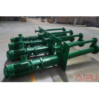 China Aipu solids YZ series submersible slurry pump for well drilling mud system wholesale