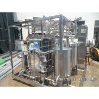 China Continuous Plate Heat Exchanger Pasteurizer Sterilization Equipment wholesale