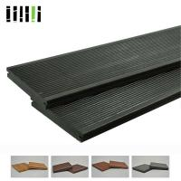 China Click Lock Cost Per Square Foot Modern Black Grey Bamboo Solid Wooden Floor For Outdoor Deck wholesale