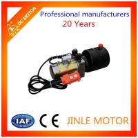 China 24VDC Tipper Trailer Hydraulic Power Unit 20Mpa 12V With One Year Warranty wholesale