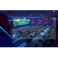 China 3.75KW 5D Movie Theater For Fun Ride Roller Coaster Simulator Commercial Amusement Park wholesale
