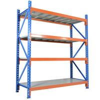 China Customization Cold Steel Wide Span Shelving / Commercial Metal Racks wholesale