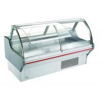 China R404 Refrigerant Deli Display Fridge Case / 2m Long Meat Shop Equipment on sale