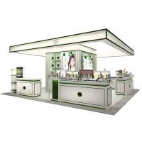 China Elegant Style Retail Display Cases Wooden Frame With Tempered Glass wholesale