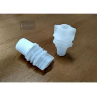 China Screw Cap Doypack Spout , Flip Spout Cap For 100ml Soy Milkp Pouch on sale