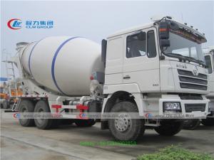 China 10 Wheels 6x4 10cbm SHACMAN Concrete Mixer Truck wholesale