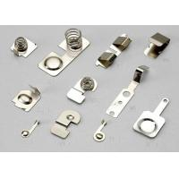 China Contact Part Metal Stamping Components Used In Electical Ecuipment OEM / ODM on sale