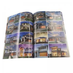 China Grey Cardboard Paper Custom Cookbook Printing / Recipe Book Printing wholesale