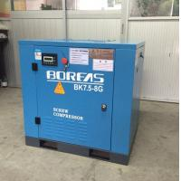 China 7.5KW 10HP dircect driven 116psi 42cfm low noise air cooling screw air compressor wholesale