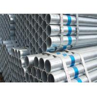 China Round Galvanized Steel Pipe 20 - 113mm Diameter Rust Resistance Surface wholesale