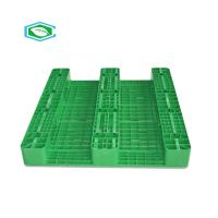 China 3 Skid Runners Steel Reinforced Plastic Pallets Four Way Selective Rack High Impact Strength wholesale