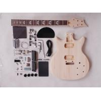 China 39 Inch 22 Fret Double Cutaway DIY Electric Guitar Kits With Maple Neck AG-DU3 wholesale