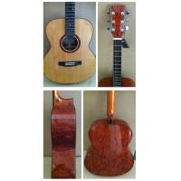 China Superior 40inch Palisander plywood Western Guitar / Wood Acoustic Guitar Excellent Sound TP-AG32 wholesale