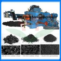 China 10-20Tons waste tire recycling machine /tire shredder/tire recycling plant wholesale