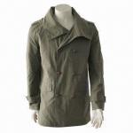 China Men's Fashionable Windbreaker/Casual Jacket/Leisure Coat with Stylish Design wholesale