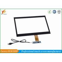 China Anti - Collision Projected 14 Inch Touch Screen Display Panel For POS Monitor wholesale
