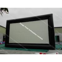 China Outdoor Inflatable Advertising Products , Giant Inflatable Movie Screen on sale