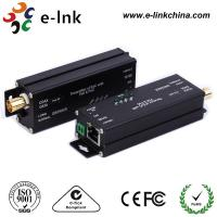 China Gigabit EOC Ethernet Over Coax Converter Adapter With PoC POE For IP Camera wholesale
