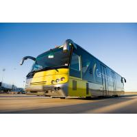 Quality 102 Passenger Low Floor Buses Airport Passenger Bus With Anti - Slip Rubber for sale