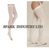 China Open Toe Medical Compression Stockings Of Thigh High Anti - Embolism Stocking wholesale