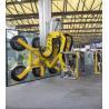 China 90°C Rotation Double Glazing Machinery Yellow Colour Glass Vacuum Lifter wholesale