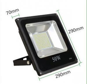 Quality 30W led reflector led lamp dimmable flood lighting black grey aluminum housing single 110V for sale