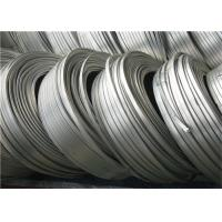 Quality High Potential magnesium anode zinc ribbon anode For Buries Structures for sale