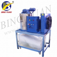 China China Manufacturer Wholesale Price Commercial 1T/Day Flake Snow Ice Making Machine on sale
